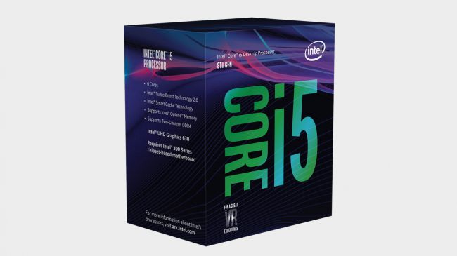 Intel Kern i5-8400 - bester mainstream cpu