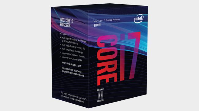 Intel Kern i7-8700K - bester gaming cpu